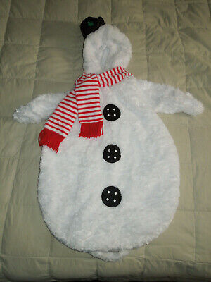 Frosty The Snowman Baby Winter Snow Outfit Costume 0-9 M ()