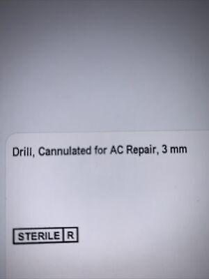 Arthrex Ar-2257d-30 Drillcannulated For Ac Repair 3mm