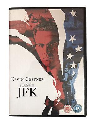 JFK DVD (1999) Kevin Costner, Stone (DIR) cert 15