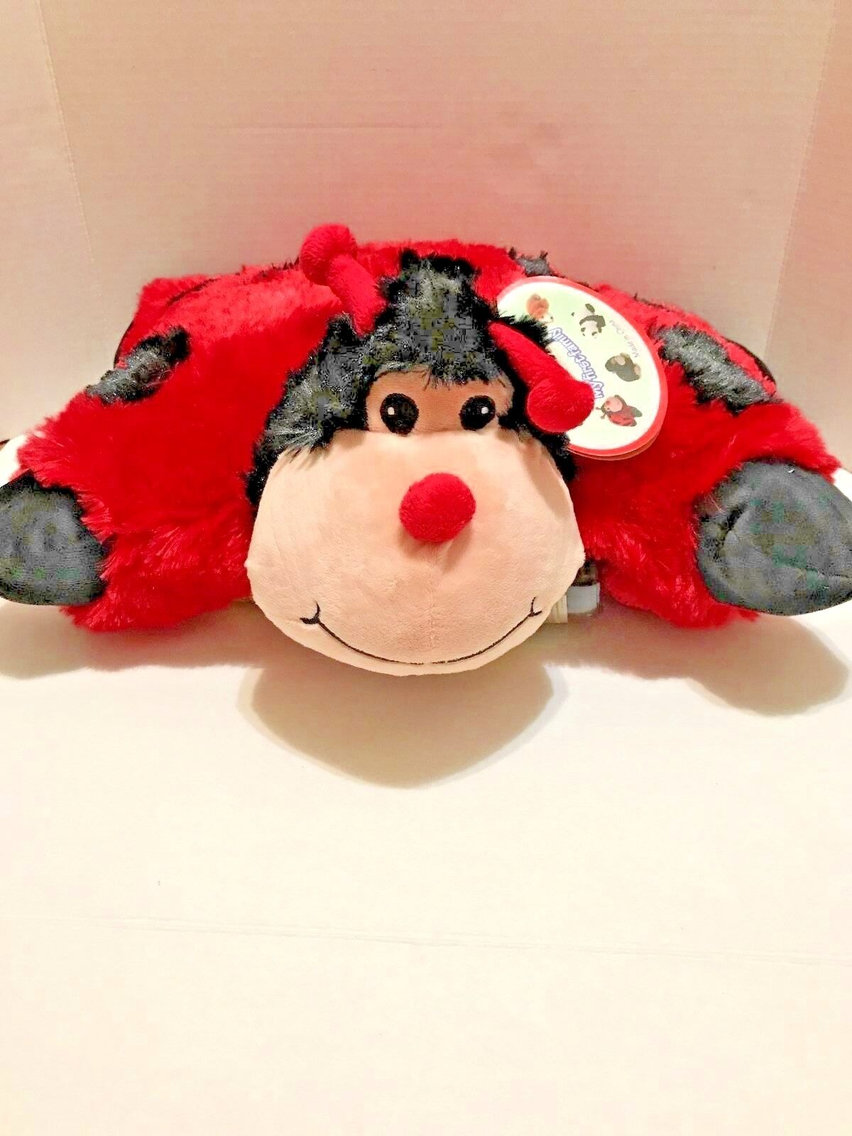 "Pillow Animal Pets Miss Lady Bug 18"" inch"