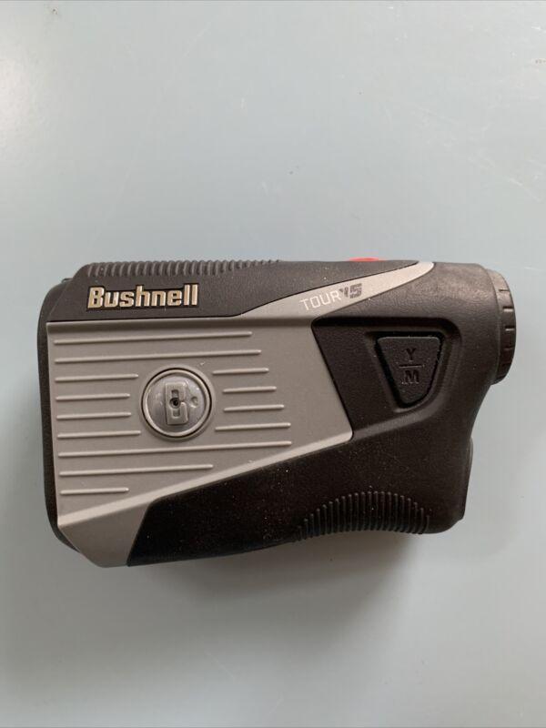 Bushnell Tour V5 Laser Golf Rangefinder Tested Works Great