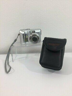 Nikon COOLPIX P2 5.1 MP Digital Camera Silver + Battery +1 GB Memory Card + Case
