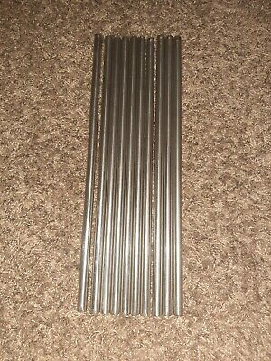 12 Diameter X 15 And 12 Long Stainless Steel Rod Grade 304 Round