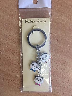 Schlüsselanhänger Panda