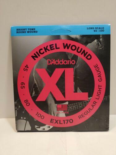 D'Addario EXL170-8x2  Electric Bass Guitar Strings, XL Nicke