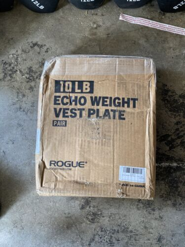 Rogue Fitness 10lb Echo Weight Vest Plates  - BRAND NEW