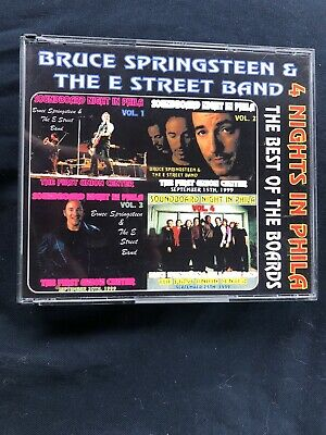 "BRUCE Springsteen "" 4 Nights In phila"" Best Of The Boards- 1999 Soundboards-3"