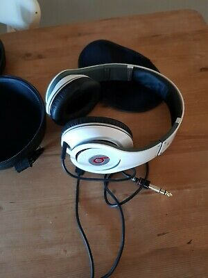 Beats by Dr. Dre Studio Wired Headband Headphones - White