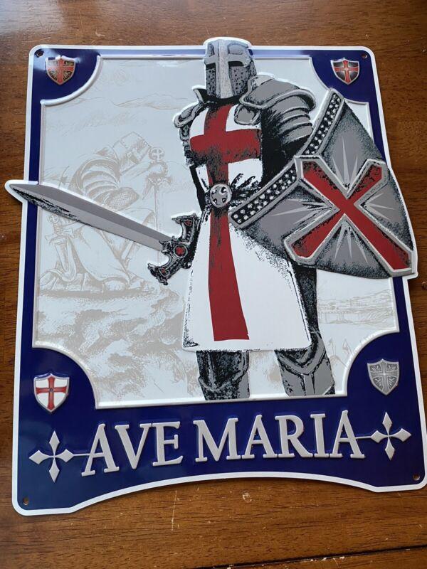 AVE MARIA Cigar Metal Sign - New