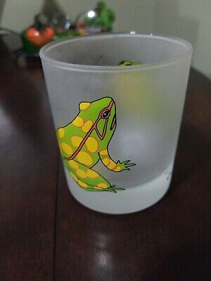 Dartington Designs Laughing Toad Frosted Glass, Made in France