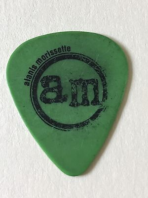 Alanis Morissette authentic 2004 So-Called Chaos tour signature band Guitar Pick