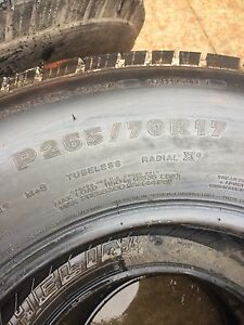 Michelin tires 265/75r17 Stratford Kitchener Area image 2