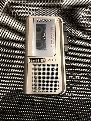 Sony M-570V Micro Cassette Recorder Clear Voice Plus Parts or Not Working