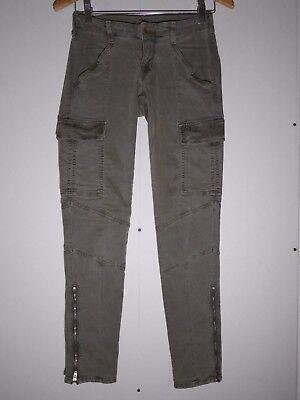 231 J Brand 1229 Houlihan Zip Cargo Pants In Vintage West Point Size 25 Mint