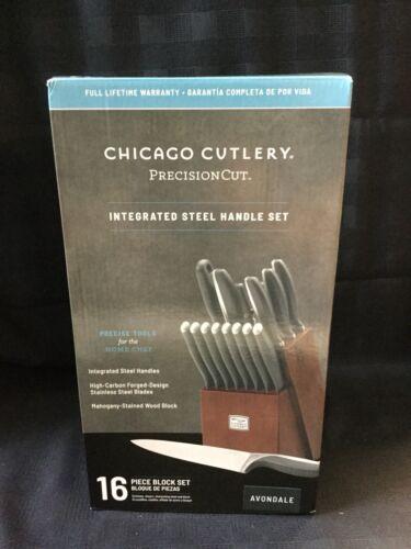 Chicago Cutlery 16 Piece Avondale Knife Block Set