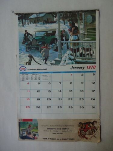 1970 COMPLETE CALANDER INNERST