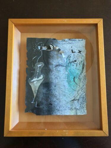 José Maria Porta Missé - Original mixed technique on paper surreal Miro Picasso