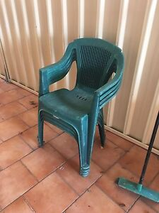 4 Free outdoor chairs Turrella Rockdale Area Preview
