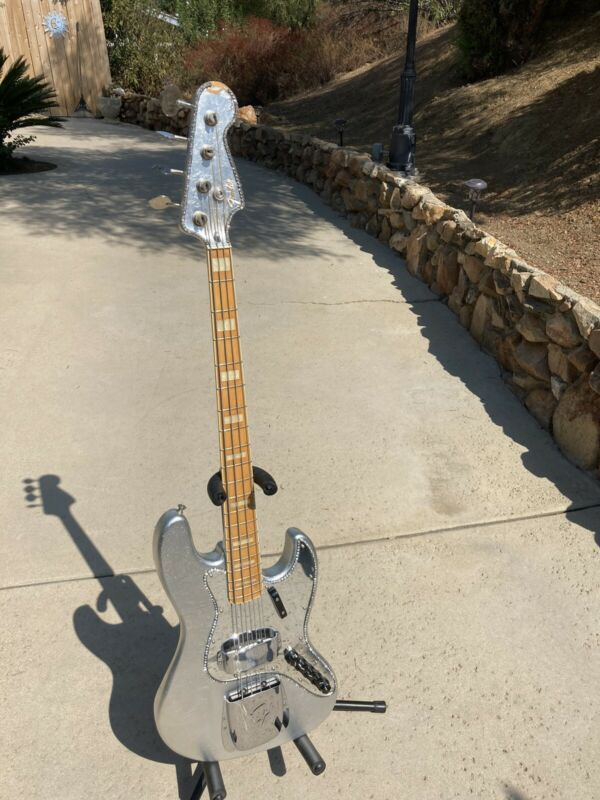 "Fender Silver Foil ""Jackson Five"" Jazz Bass"