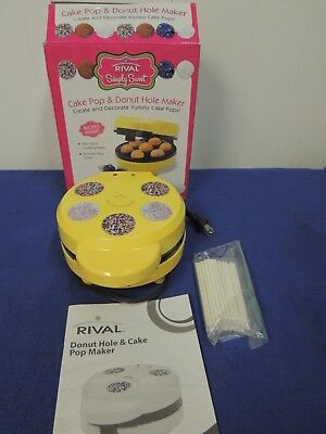 Rival Simply Sweet Cake Pop & Donut Hole Maker