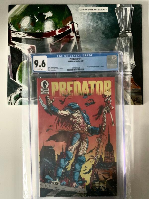 Predator #1 (06/89, Dark Horse) CGC 9.6 WP First Appearance In Comics