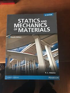 Statics textbooks gumtree australia free local classifieds statics and mechanics of materials 4th ed fandeluxe Images