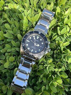 Seiko SKA371 5M62-0BL0 Kinetic BFK Divers Watch.