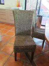 8 Indonesian Water Hyacinth dining chairs Noosa Heads Noosa Area Preview