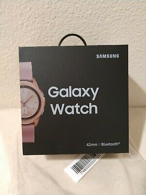 BRAND NEW! Samsung Galaxy Watch (42mm) Rose Gold (Bluetooth) SM-R810NZKAXAR