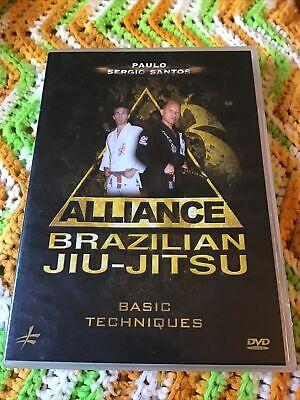 Alliance Brazilian Jiu-jitsu Basic Techniques Dvd  Paulo Sergio Santos