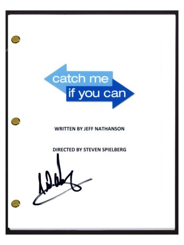 Frank Abagnale Signed Autographed Catch Me If You Can Movie Script COA