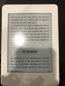 White Kindle Paperwhite 3GB in Great condition