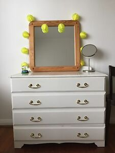 Beautifully crafted 4 drawer dresser (not IKEA!) tall boy Elwood Port Phillip Preview