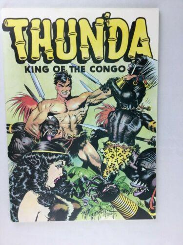 Frank Frazetta Thunda King Of The Congo  Russ Cochran 1973  Classic Over Size