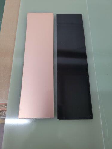 10 pcs Single Sided Copper Clad Laminate Circuit Boards  FR-4 .060,  2 oz. BLACK