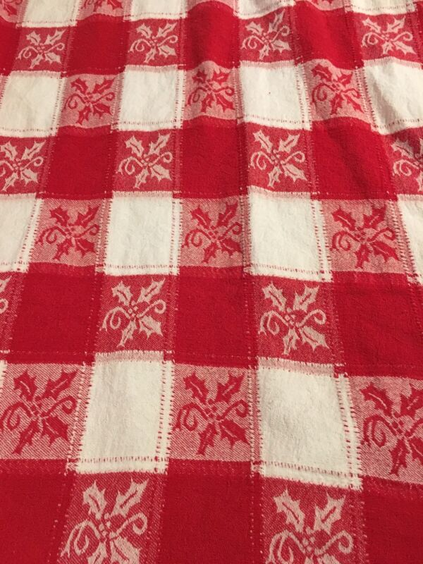 Table Cloth Red And White Checkered Chiristmas Table Cloth Rectangle