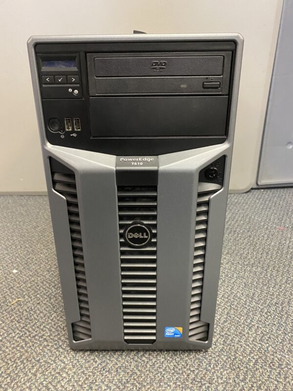 Dell Poweredge T610 2x 4Core XEON X5620@2.4GHz 96Gb RAM NO HDD PERC H700 2PSUs