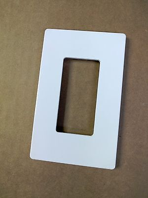 (100 pc) Screwless 1-Gang Wall plate Decorator GFCI Cover White Snap On Lot