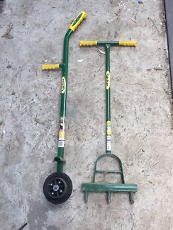 Cyclone edger and aerator