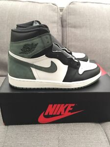 SIZE 10.5 - AIR JORDAN 1 CLAY GREEN - DS WITH RECEIPT