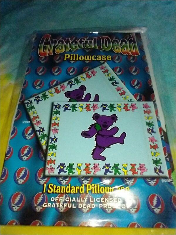 Grateful Dead Dancing Bears Standard Size Pillowcase