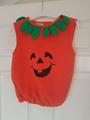 Asda Dressing Up Halloween (George ASDA Very Cute Dress Up Pumpkin Outfit 3-5Years Boys/Girls World Book)