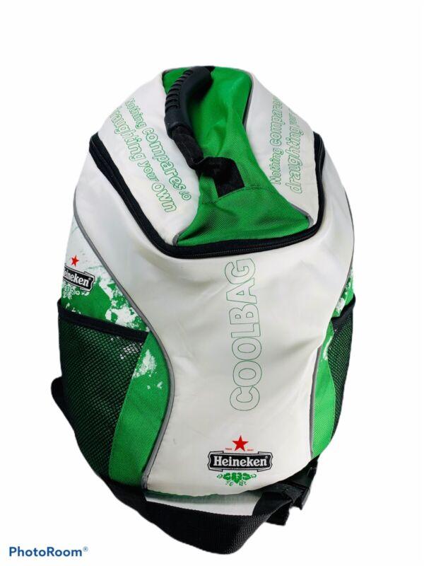 🔥 Heineken Beer • CoolBag • Insulated Cooler Bag Backpack • Super Rare !