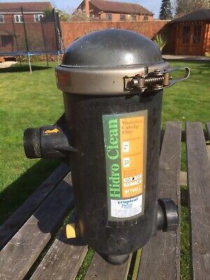 TMC Hidroclean Pressure Filter Koi Carp Pond Pump