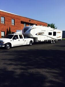 fifthwheel  chaparral 38pied 345bhs