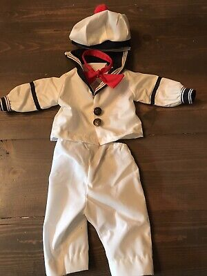 Boy Doll Sailor Outfit Looks Like Stay Puft Marshmallow Man Ghostbusters