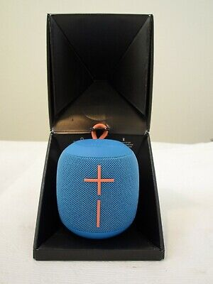 Used, NEW OPEN BOX Ultimate Ears UE WONDERBOOM Portable Bluetooth Speaker SubZero Blue for sale  Shipping to India
