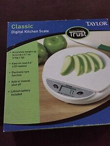 Taylor classic kitchen scale