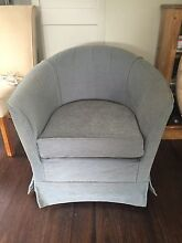 Tub chair with loose slip cover Naremburn Willoughby Area Preview