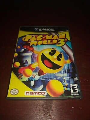 Pac-Man World 3 Used Tested GameCube Case